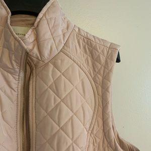 Light Pink Zip-up Vest
